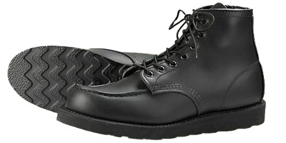Black Traction Tread @ Original Cobblers